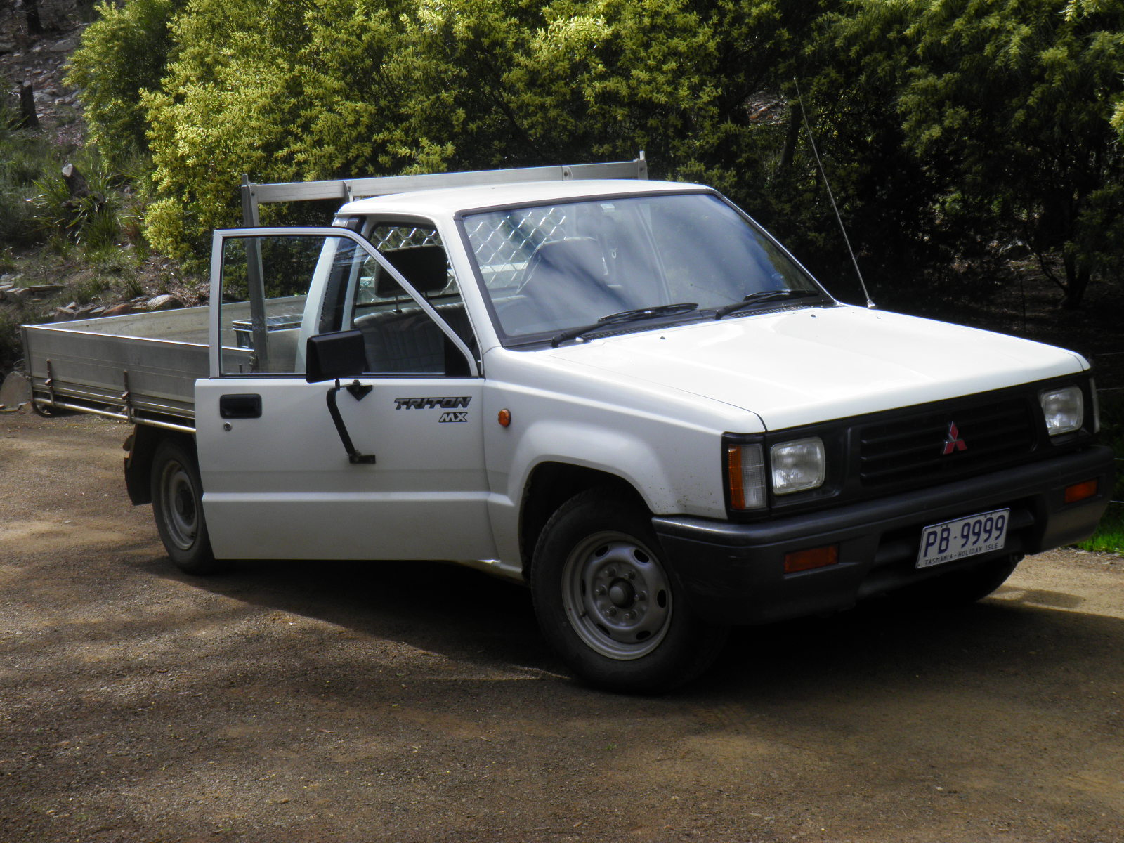 Mitsubishi Ute. Good little workhose. Current